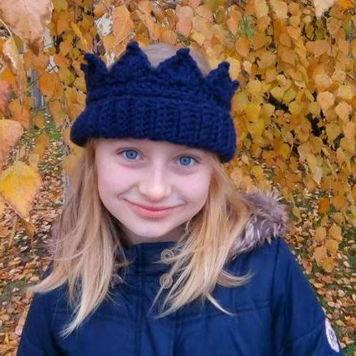 crochet ear warmer crown heklana kruna grejac za usi